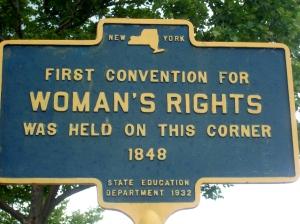 Seneca Falls forsta kvinnorörelsen